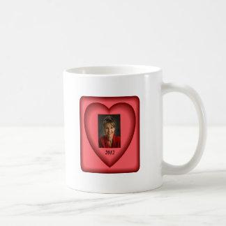 Corazón de Sarah Taza De Café