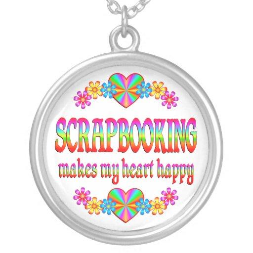 Corazón de Scrapbooking feliz Joyerias