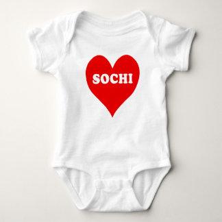 Corazón de Sochi Camisas