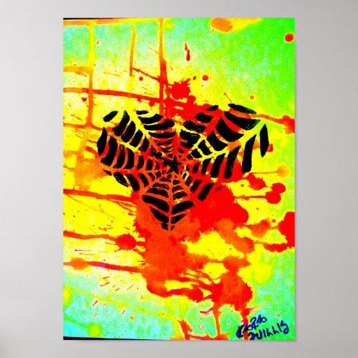 Corazón de Spiderweb de Kara Willis Poster