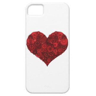 Corazón de Steampunk iPhone 5 Fundas