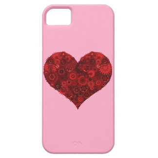 Corazón de Steampunk iPhone 5 Funda