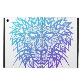 Corazón de un león - caja del aire del iPad - blan