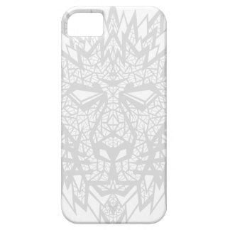 Corazón de un león - caso 5/5S del iPhone - blanco iPhone 5 Coberturas