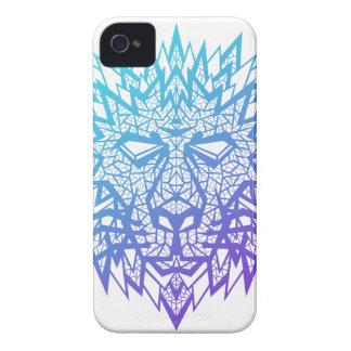 Corazón de un león - caso de Iphone 4s - blanco Case-Mate iPhone 4 Coberturas