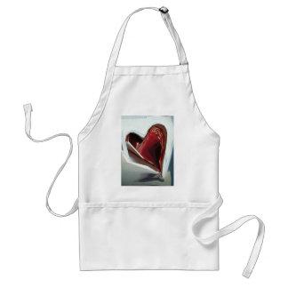 Corazón (de un paquete a fuma) delantales