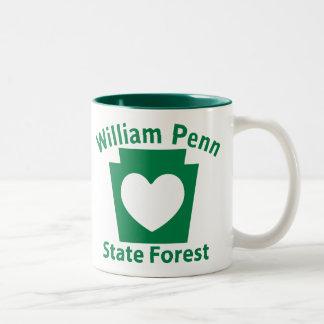 Corazón de William Penn SF - taza