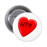 Corazón de WTF Pins