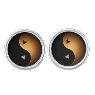 corazón de yang del yin - caramelo gemelos
