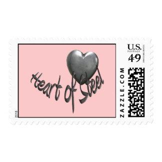 Corazón del acero sello