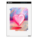 Corazón del amor calcomanía para el iPad 2