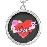 corazón del amor grimpolas personalizadas