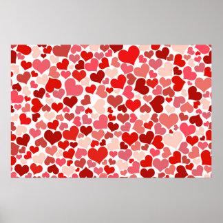 Corazón del amor posters