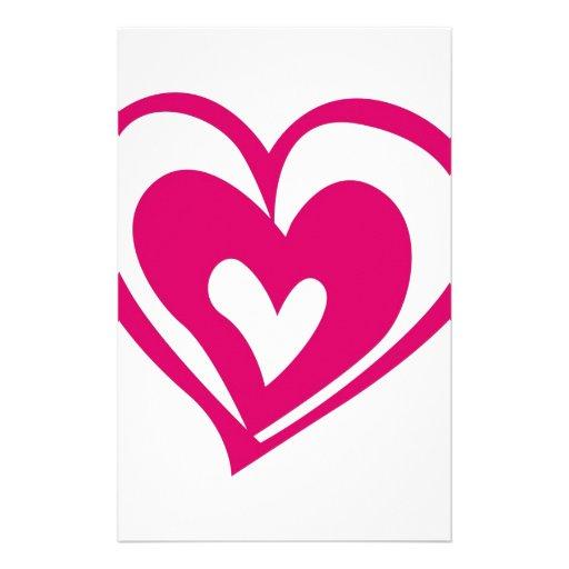 corazón del amor  papeleria