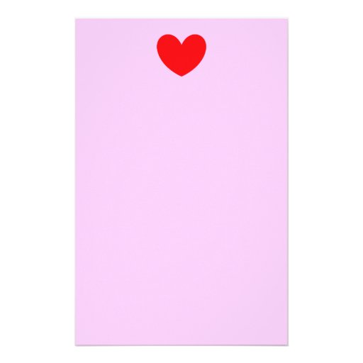 Corazón del amor papelería de diseño