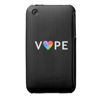 Corazón del arco iris de Vape iPhone 3 Case-Mate Cobertura