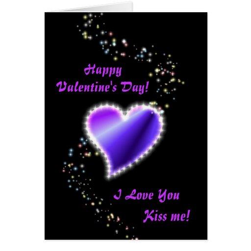Corazón del arco iris del el día de San Valentín Tarjeta De Felicitación