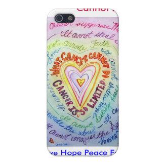 Corazón del arco iris qué cáncer no puede hacer el iPhone 5 cárcasas