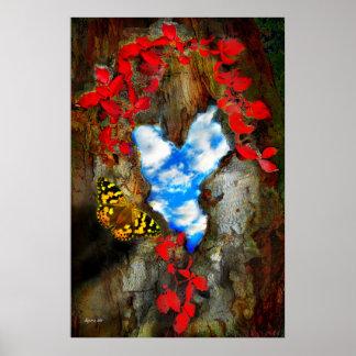 Corazón del bosque póster