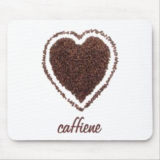 corazón del café alfombrillas de raton