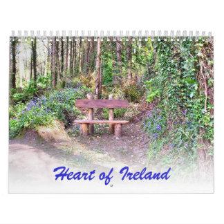 Corazón del calendario de Irlanda