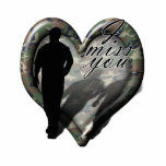 Corazón del camuflaje - hombre que falta del hombr esculturas fotograficas