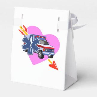 Corazón del ccsme del cuidado caja para regalos de fiestas