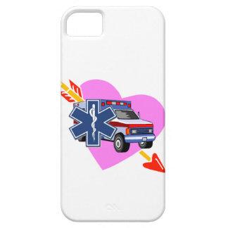 Corazón del ccsme del cuidado iPhone 5 funda