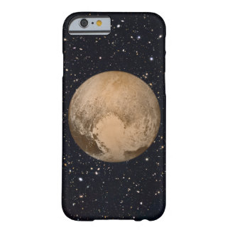 Corazón del cielo estrellado de Plutón Funda Para iPhone 6 Barely There