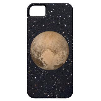 Corazón del cielo estrellado de Plutón iPhone 5 Funda