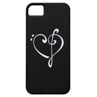 Corazón del Clef iPhone 5 Case-Mate Cobertura
