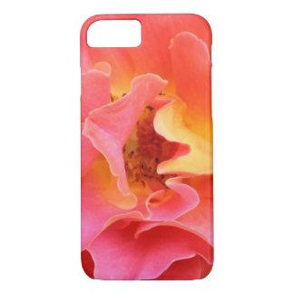 corazón del color de rosa funda iPhone 7
