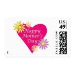Corazón del día de madre sello