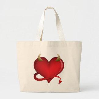 Corazón del diablo bolsa de mano