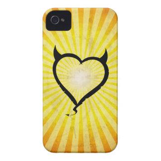 Corazón del diablo iPhone 4 carcasa
