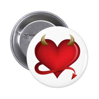 Corazón del diablo pin