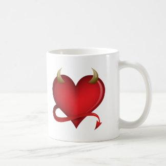 Corazón del diablo taza clásica