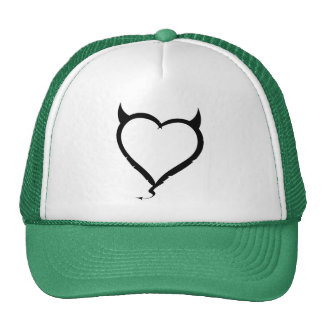 Corazón del diablo; verde gorros