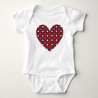 Corazón del diamante de la MOD Body Para Bebé
