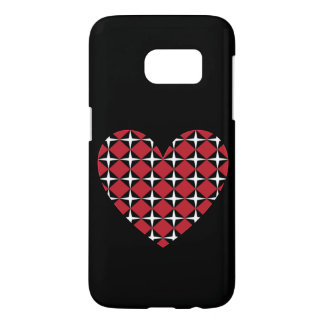 Corazón del diamante de la MOD Funda Samsung Galaxy S7