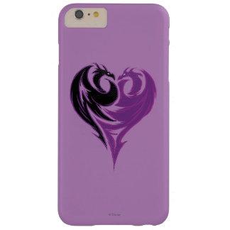 Corazón del dragón del Mal Funda Para iPhone 6 Plus Barely There