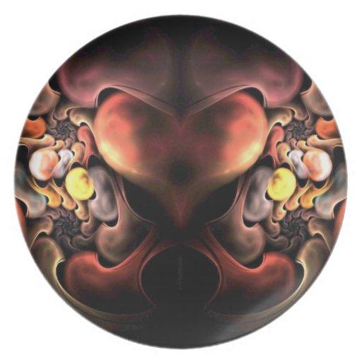 Corazón del dragón platos