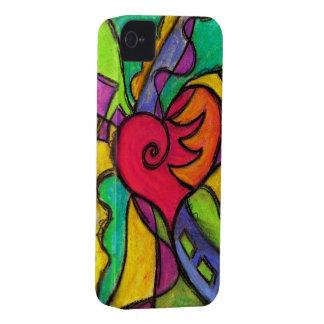 ¡Corazón del estallido!  Ganador   del TBA del iPhone 4 Case-Mate Protectores