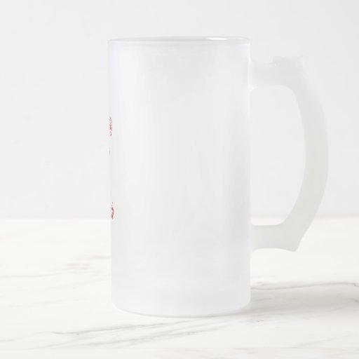 Corazón del estilo rural, pequeño diseño de las taza de cristal