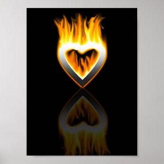corazón del fuego póster