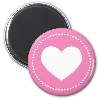 Corazón del imán del el día de San Valentín