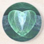 Corazón del jade posavasos manualidades