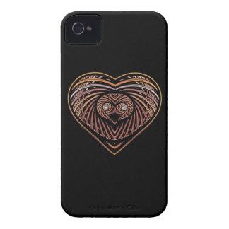 Corazón del león de Leo iPhone 4 Case-Mate Protectores