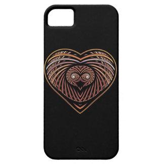 Corazón del león de Leo iPhone 5 Case-Mate Protectores