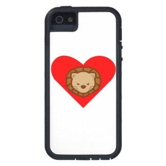 Corazón del león iPhone 5 Case-Mate funda